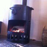 Lekker warm met een houtkachel