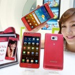 Roze Samsung Galaxy SII