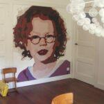 Behangtip: schilder je eigen kunstwerk op behang