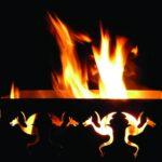 Fikkie stoken in sprookjesachtige vuurkorf