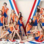 Spijkers en Spijkers ontwerpen Bavaria EK-jurkje