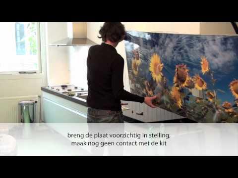 keuken tip pimp you kitchen achterwanden. Black Bedroom Furniture Sets. Home Design Ideas