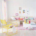 Pastelkleuren gebruiken in interieur