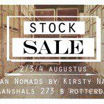 Urban Nomads houdt een stocksale