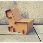 Meubels van karton
