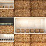 Muren van stro