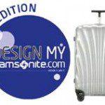 Ontwerp je eigen Samsonite koffer!