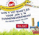 Mail & Win; JAN Pannenkoekendag in Attractiepark Slagharen