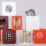 Design kattenmeubilair voor het goede doel