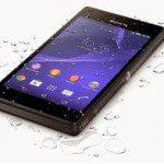Waterdichte Xperia M2 Aqua smartphone