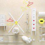 IKEA SPRUTT badkamer en slaapkamer collectie