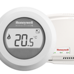Test; Honeywell Round Connected thermostaat