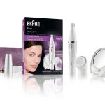 Braun Face, gezichtsepilator en reinigingsborstel