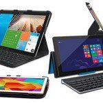Test; Logitech toetsenbord iPad mini & Samsung Tab3