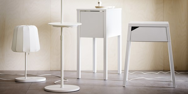 ikea lanceert oplaadstations in meubels. Black Bedroom Furniture Sets. Home Design Ideas