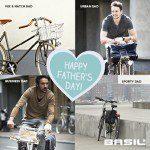 Vaderdag cadeautip; Basil fietstassen