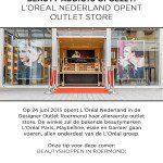 L'Oréal Paris opent winkel in Designer Outlet Roermond