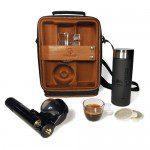 Espresso mee op reis; de Handpresso