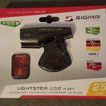 Test; de nieuwe Sigma Sport LED-fietsverlichtingset