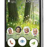 Test; Doro Liberto 825 senioren-smartphone