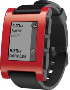pebble classic red