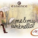 essence lanceert nieuwe trend edition 'me & my umbrella'