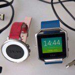 Test; Pebble Time Round vs FitBit Blaze, eerste indruk
