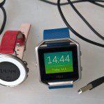 Test; Pebble Time Round vs FitBit Blaze