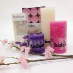 Mail & Win; Win een Bolsius kaarsenpakket!