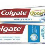 Test; Colgate Total Zichtbaar Effect