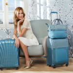 Samsonite Cosmolite en Uplite collectie is er nu in Ice Blue