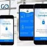 Samsonite & Vodafone introduceren het bagagesysteem Track&Go
