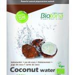 Maak je eigen kokoswater met Biotona Bio Coconut water Raw poeder