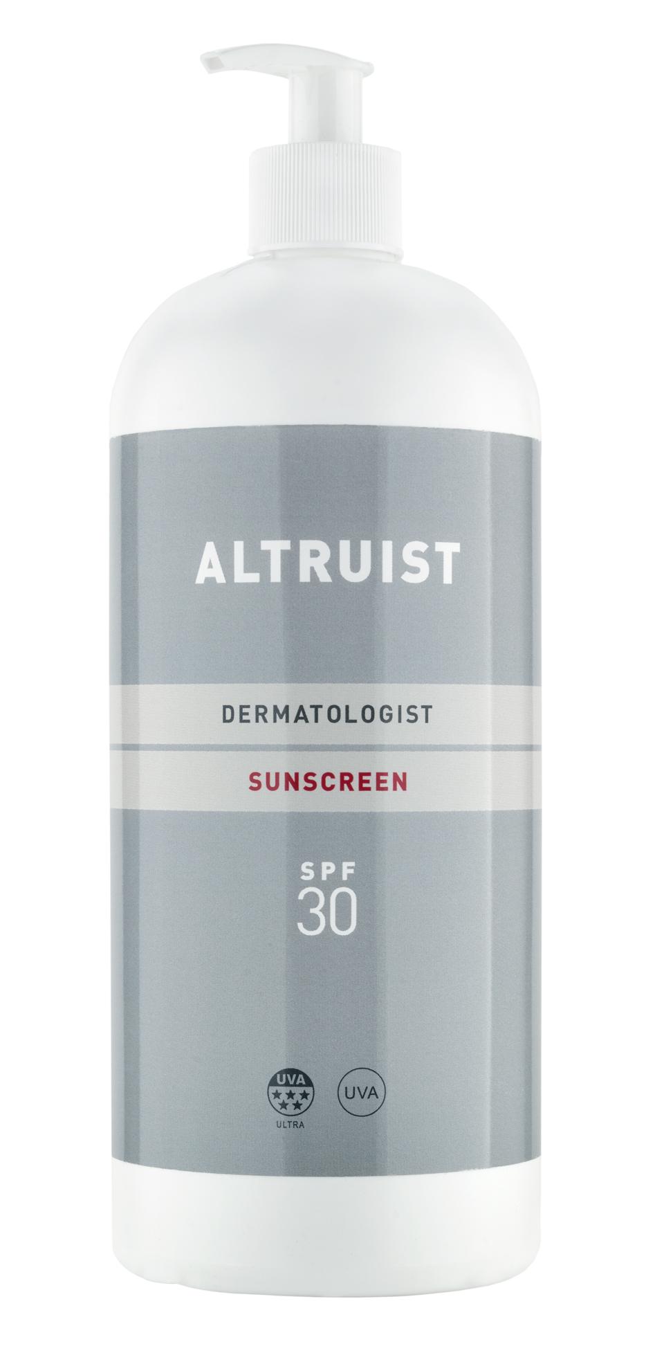 Altruist Dermatologist Sunscreen, zonnecrème met een missie