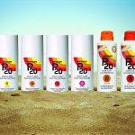 Bescherm jouw huid (en die van je kinderen) met P20 zonneproducten