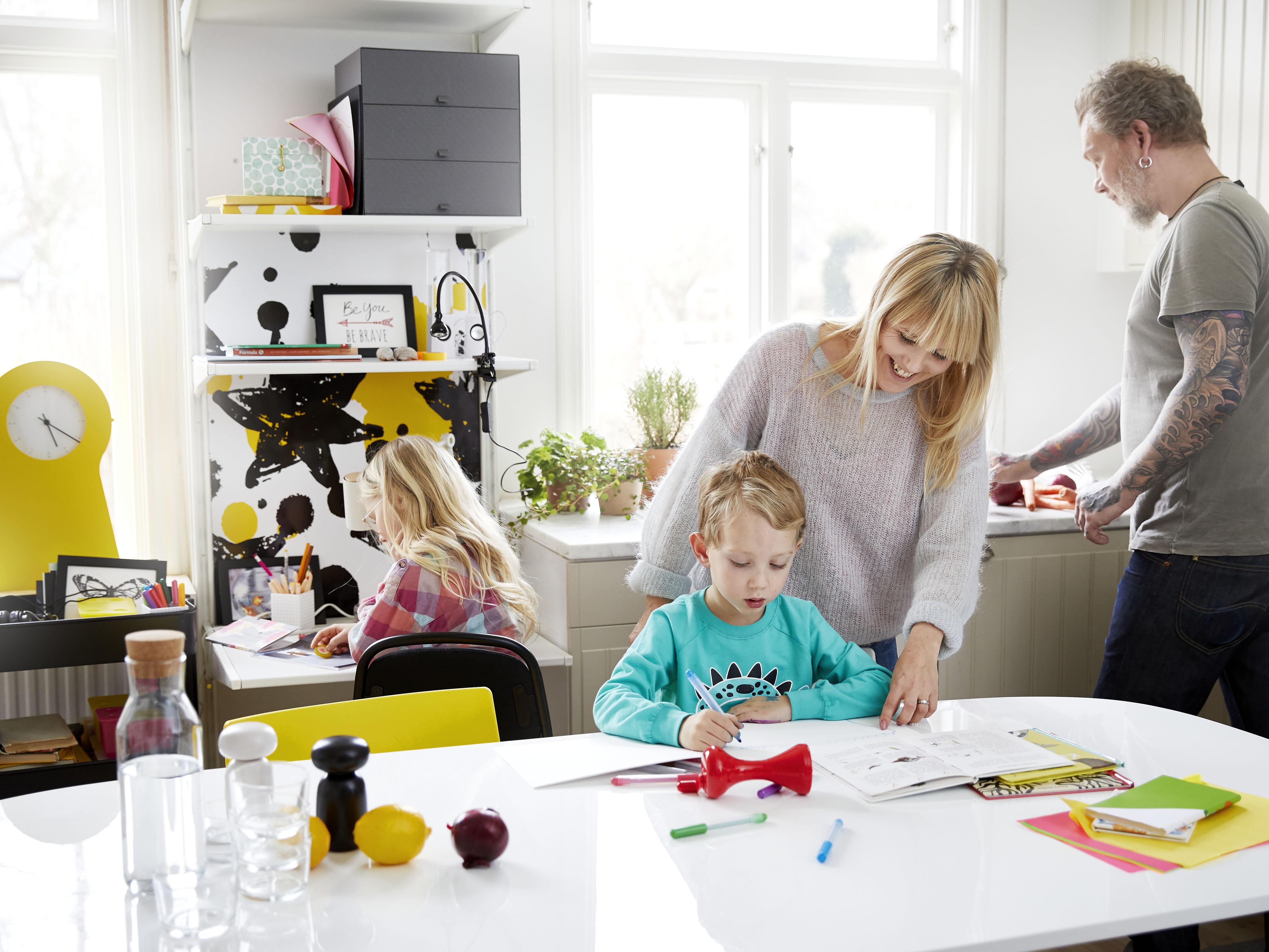 Leren Ikea Bureaustoel.Beter Leren En Studeren Met Ikea Lifestylelady Nl