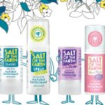 Salt of The Earth lanceert 3 nieuwe deodorantsprays