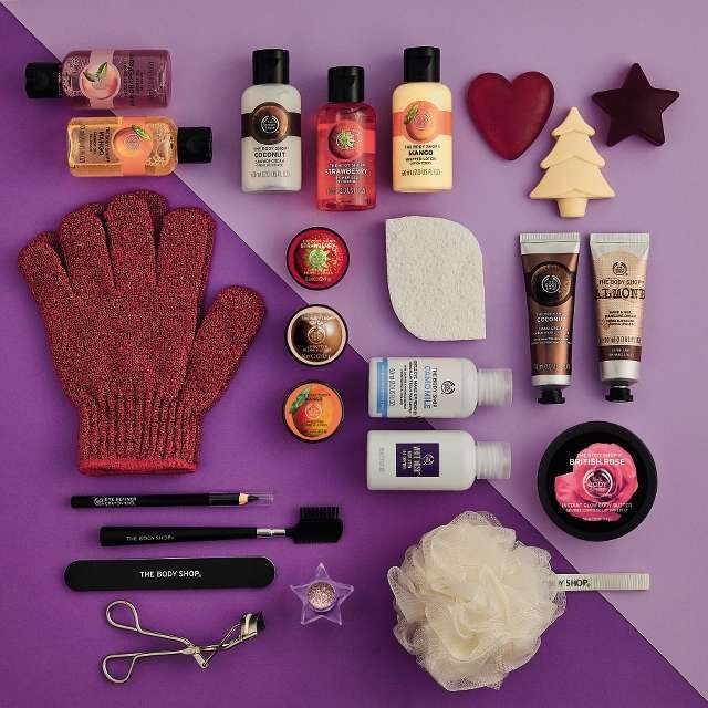 The Body Shop Beauty Adventkalenders