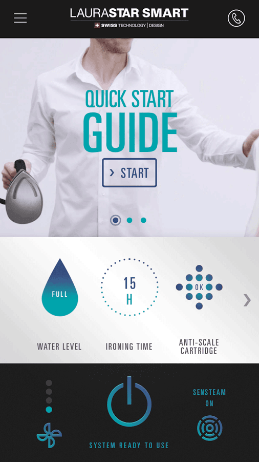 Test; LauraStar Smart Strijksysteem