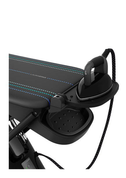 Test LauraStar Smart I strijksysteem; strijken met een app