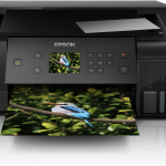 Test; de Epson EcoTank ET-7700 printer