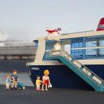 Kindertip; Playmobil cruiseschip op SS Rotterdam