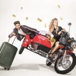 Get moving. It's party time met Samsonite