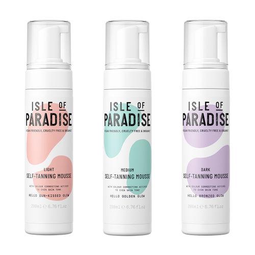 Isle of Paradise; selftan voor elke huidskleur